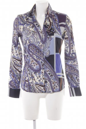 Eterna Hemd-Bluse abstraktes Muster extravaganter Stil