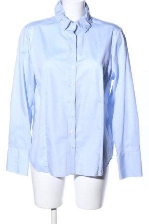 Eterna Blusa-camisa azul estilo «business»