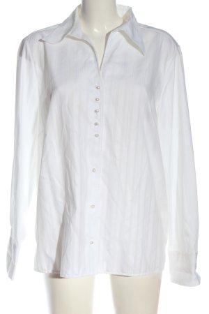 Eterna Camicia blusa bianco elegante