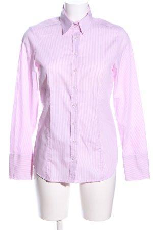 Eterna Hemd-Bluse pink-weiß Streifenmuster Business-Look