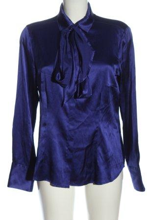 Eterna Hemd-Bluse blau Casual-Look