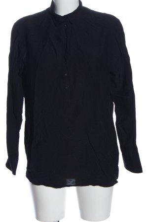 Eterna Blusa-camisa negro estilo «business»