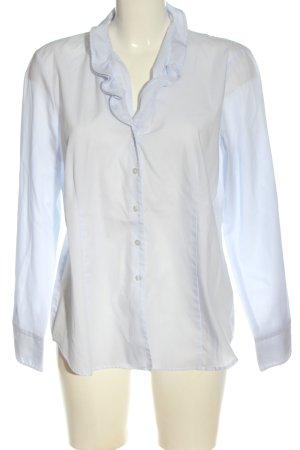 Eterna Blouse-chemisier blanc style décontracté