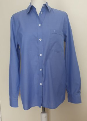 Eterna Blouse-chemisier bleu acier