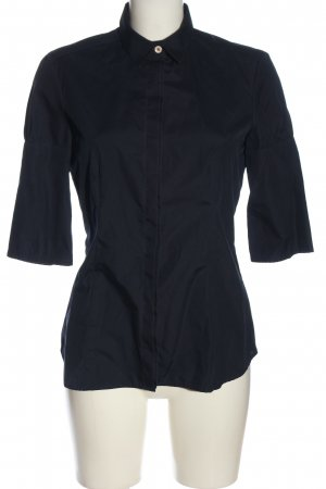 Eterna Kurzarmhemd blau Business-Look
