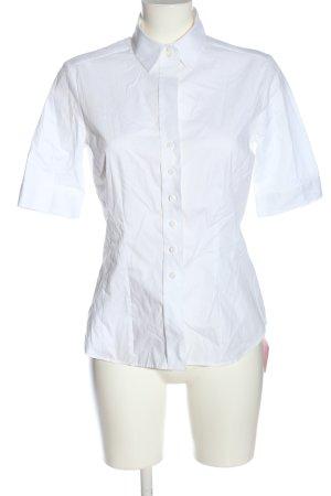 Eterna Camicia a maniche corte bianco stile professionale
