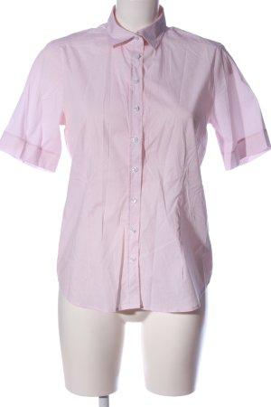 Eterna Chemise à manches courtes rose-blanc imprimé allover