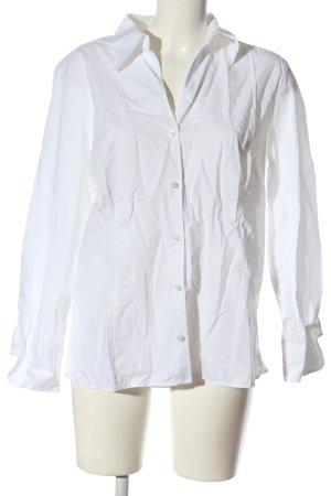 Eterna Camisa de manga larga blanco estilo «business»