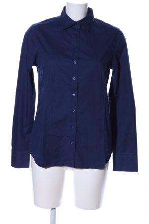 Eterna Langarmhemd blau Casual-Look