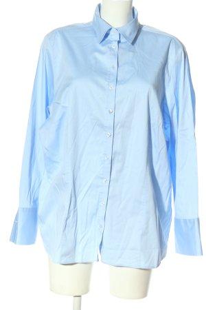 Eterna Chemise à manches longues bleu style d'affaires