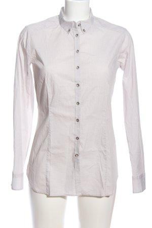 Eterna Chemise à manches longues blanc cassé-blanc imprimé allover