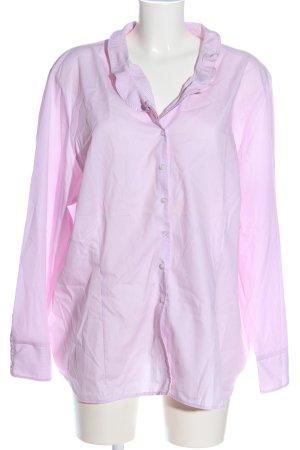 Eterna Camicia a maniche lunghe rosa stile casual