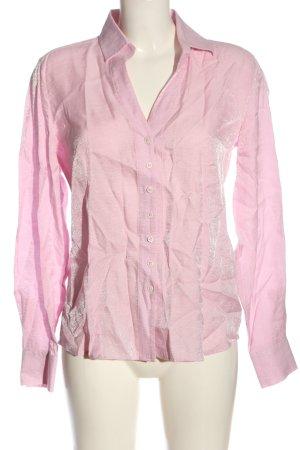 Eterna Langarmhemd pink Casual-Look