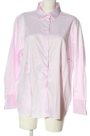 Eterna Chemise à manches longues rose style décontracté