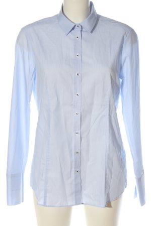 Eterna Camicia a maniche lunghe blu elegante