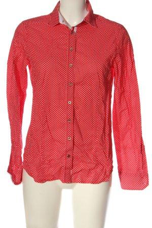 Eterna Langarmhemd rot-weiß Casual-Look