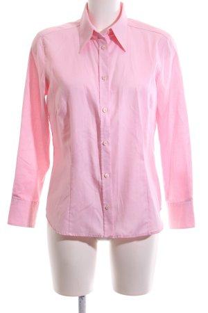 Eterna Langarmhemd pink Business-Look