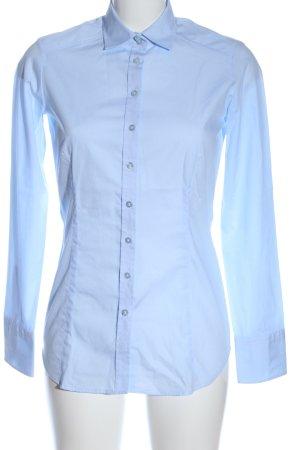 Eterna Camicia a maniche lunghe blu stile professionale