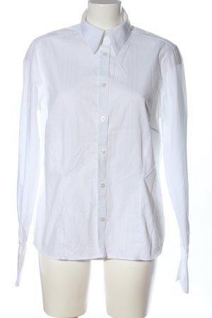 Eterna Chemise à manches longues blanc style d'affaires