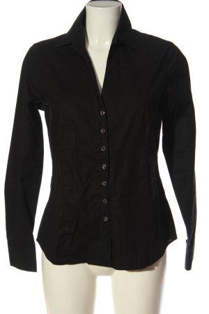 Eterna Camisa de manga larga negro estilo «business»