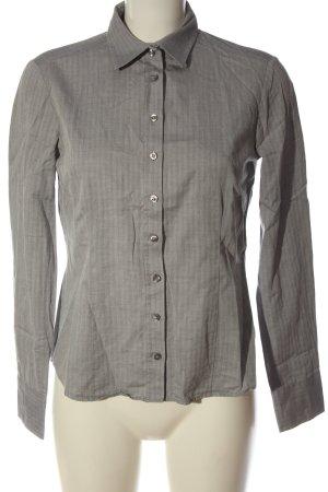 Eterna Camicia a maniche lunghe grigio chiaro stile professionale