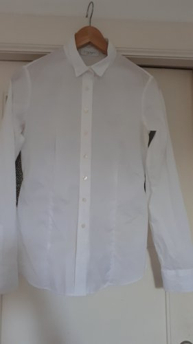 Eterna Blusa de manga larga blanco Algodón