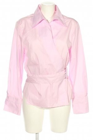Eterna Wickel-Bluse pink Business-Look
