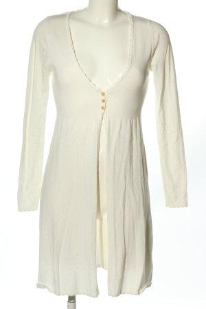 Eternal Manteau en tricot blanc style décontracté