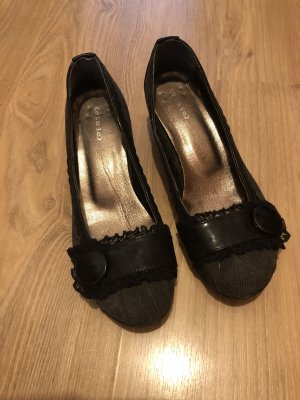 Ethic Schuhe 38 schwarz grau
