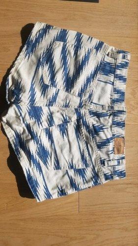 Denim & Supply Ralph Lauren Shorts white-blue cotton