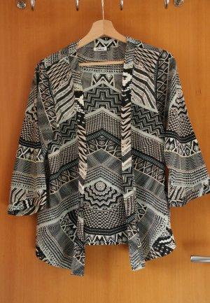 Only Kimono multicolor tejido mezclado