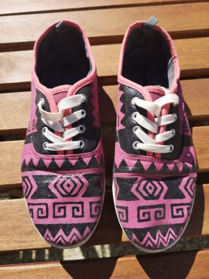 unknown Lace-Up Sneaker multicolored