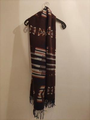 unknown Bufanda de lana multicolor