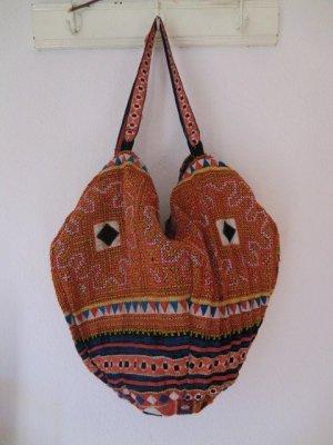 Ethno Stofftasche Beutel Handtasche Vintage Umhängetasche Hippie Stoffbeutel Folklore Tasche