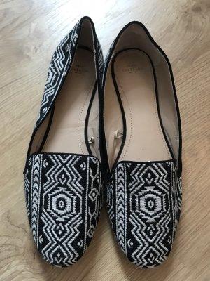 Zara Pantofola bianco-nero