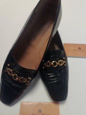 Etienne Aigner eleganter Schuh Gr 40,5 schwarz