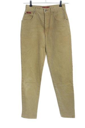 Etienne Aigner Hoge taille broek brons casual uitstraling