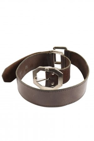 Etienne Aigner Leather Belt brown business style