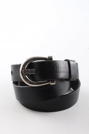 Etienne Aigner Leather Belt black business style
