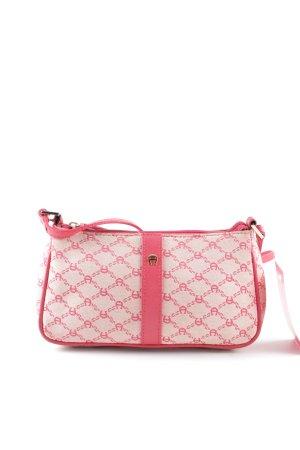 Etienne Aigner Minitasche pink-creme Allover-Druck Elegant