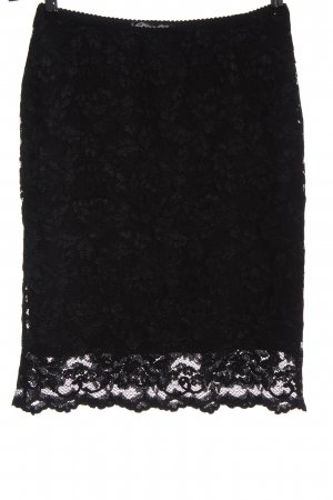 Etincelle Couture Lace Skirt black casual look