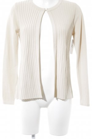 Etincelle Couture Strickjacke creme Casual-Look