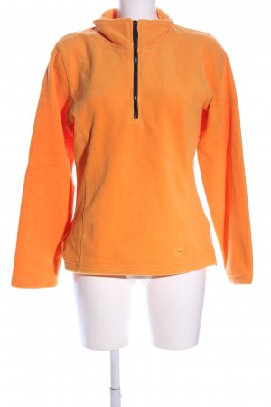 Etirel Fleecejacke hellorange Casual-Look