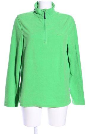 Etirel Maglione dolcevita verde stile casual