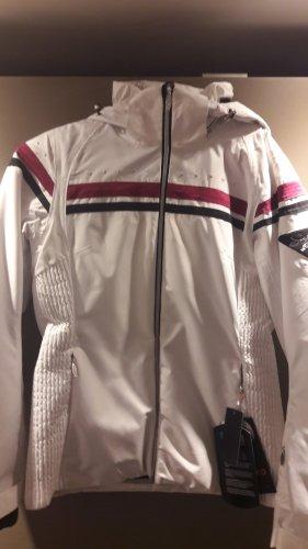 Etirel Giacca sport bianco-rosa