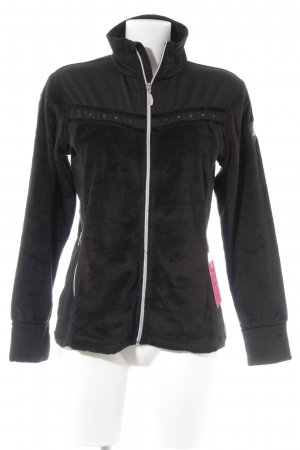 Etirel Sweatjacke schwarz Casual-Look