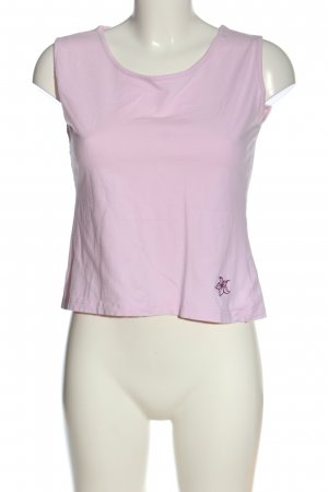 Etirel Canotta rosa Stampa a tema stile casual