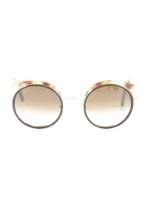 Etnia Barcelona Round Sunglasses brown-primrose casual look
