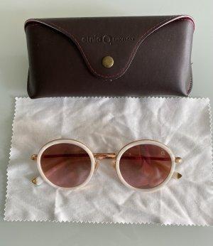 Etnia Barcelona Okrągłe okulary przeciwsłoneczne różowy-biały