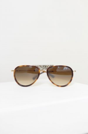 Etnia Barcelona Aviator Glasses brown